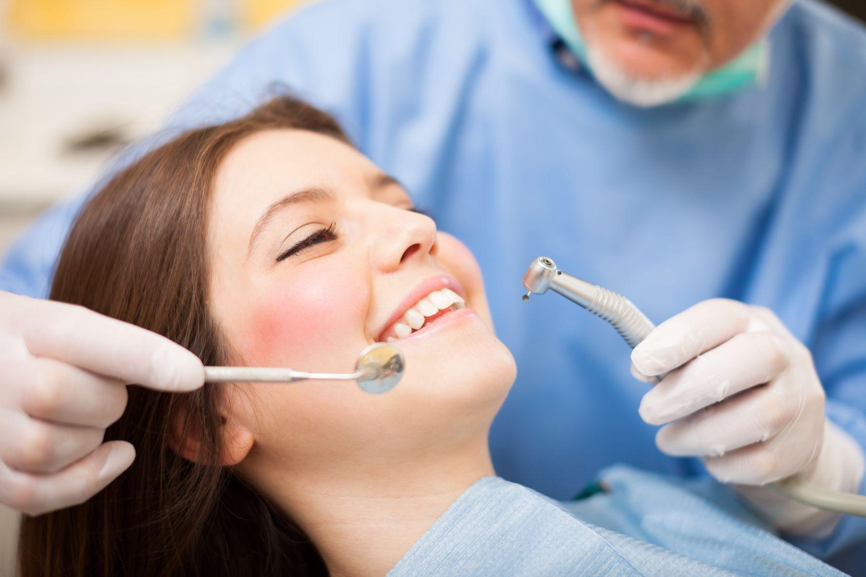 Girl Visits Dentist
