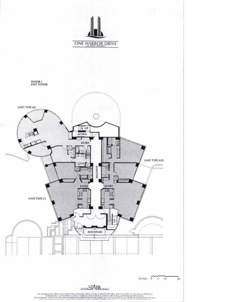 Harbor Club Floor Plans
