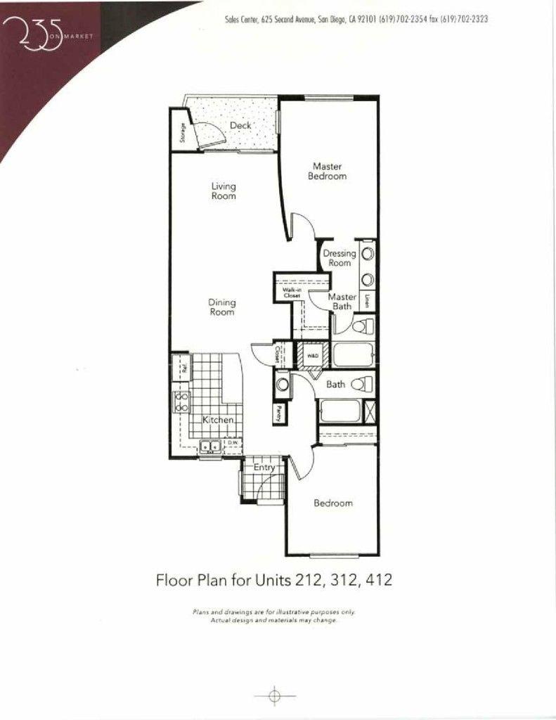 235 Market Floor Plans