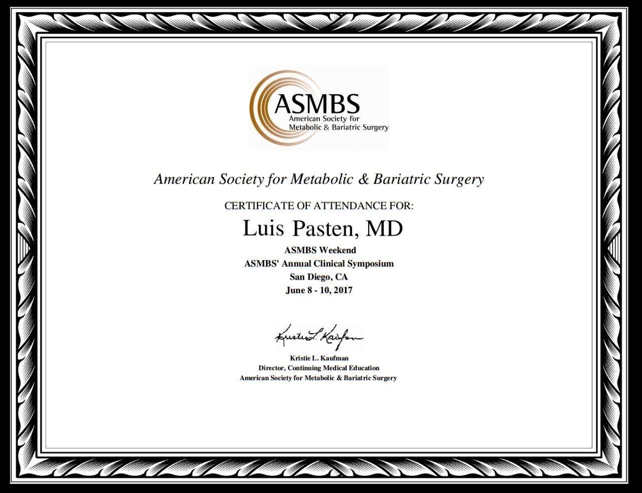 Dr. Luis Pasten