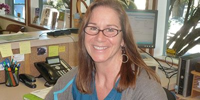 Teri our senior receptionist