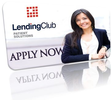 Girl Smiling on Lending Club patient Financing card
