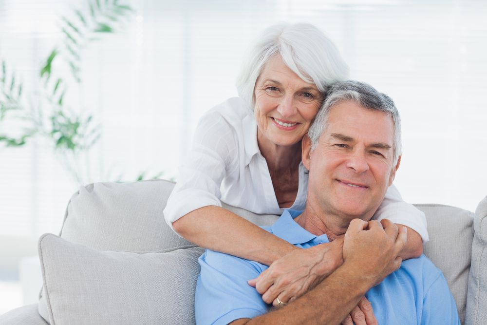 An older couple together