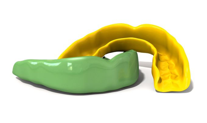 Mouth guards and night guards for TMJ disorder.