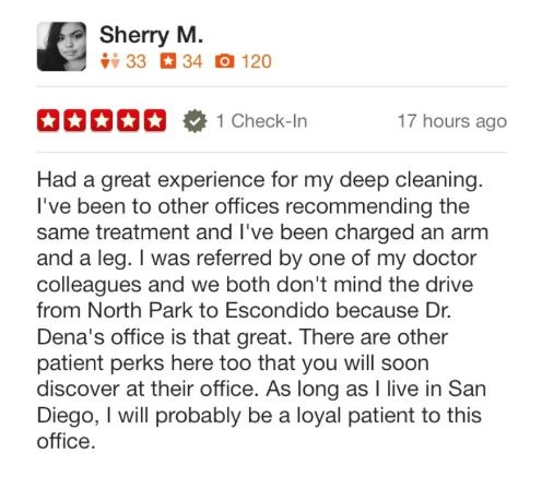 Dentist in Encinitas Review